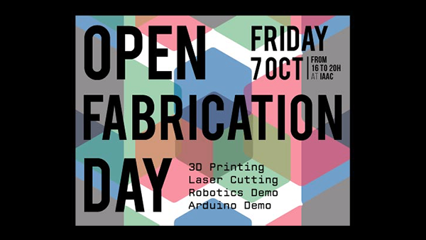 Open Fabrication Day en el Fab Lab Barcelona