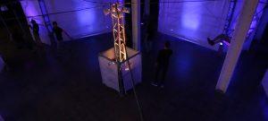 Here, experiencia interactiva de luz y sonido de Col-lec