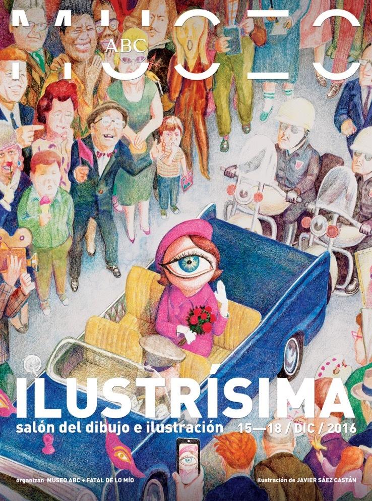 Javier Sáez Castán diseña el cartel de Ilustrísima 2016