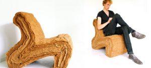 Layer Chair, la silla biodegradable de Jorrit Taekema