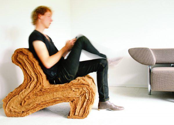 Layer Chair, Jorrit Taekema, 2016.
