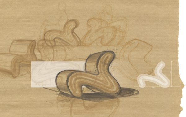 Boceto Layer Chair, Jorrit Taekema, 2016.