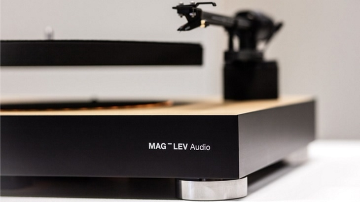 Mag-Lev Audio, el tocadiscos que levita de Desnahemisfera