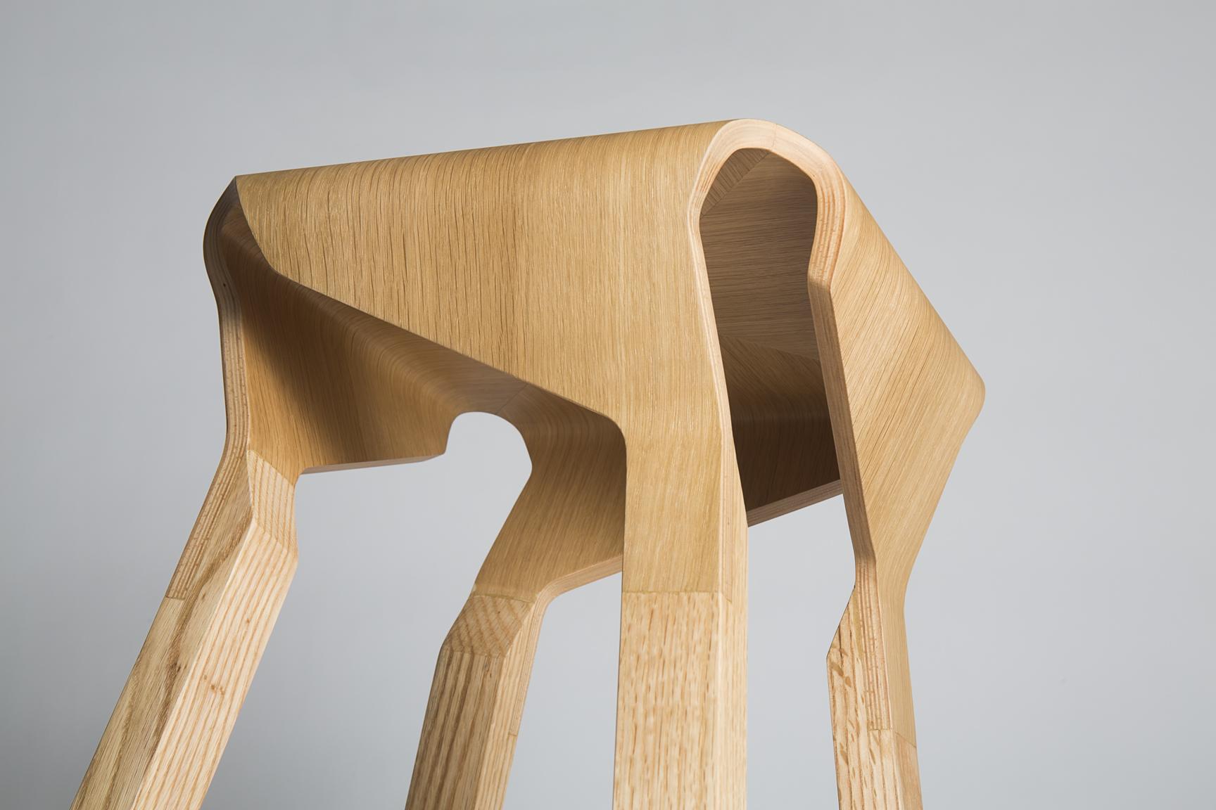 Taburete Naoshima, Emiliana Design Studio, Barcelona, 2016, © Xavier Padrós
