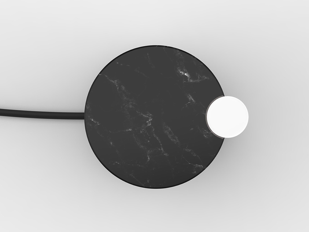 Satellite, la lámpara de Quentin de Coster para Van Den Weghe ITEMS