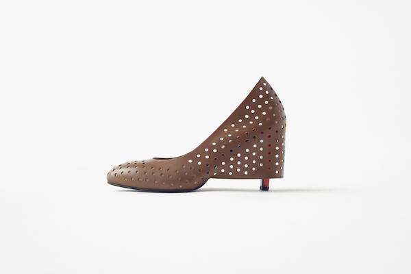 Skirt-shoes, de Nendo para Seibu
