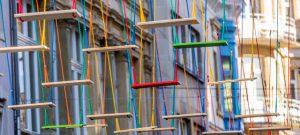 Swings, instalación con columpios de Max Mertens. La cara más lúdica de Luxemburgo