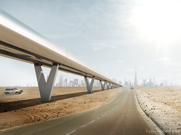 Hyperloop One y BIG harán realidad el transporte del futuro