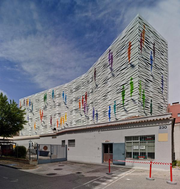Remodelación en Madrid. La doble piel de Denorte para Cualtis