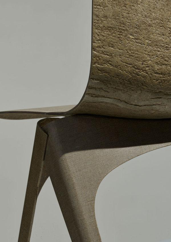 Flax Chair, Christien Meindertsma. Fotografía: Label/Breed