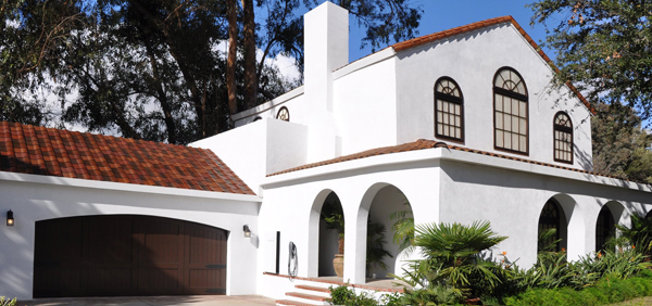 Tuscan glass tile roof. Solar Roof, Solarcity, Tesla