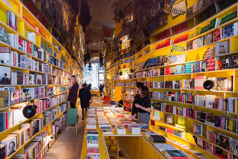 La librería infinita de SelgasCano. Un homenaje a Borges