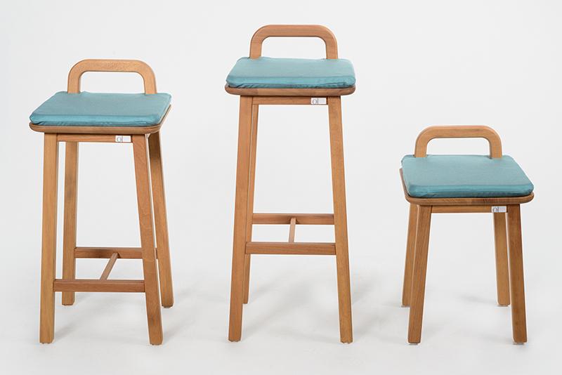 Oma, colección de mobiliario de exterior de Silvia Ceñal