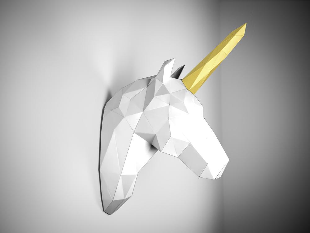 Papertrophy, los trofeos de papel DIY de Holger Hoffman
