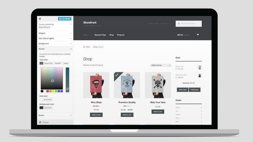 Curso Domestika: Creación de una tienda online en WordPress