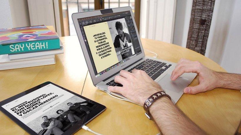 Curso Domestika: Diseño de una publicación interactiva con InDesign y Bütton