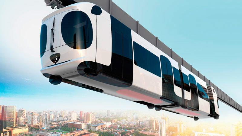 LKS DiaraDesign, CRRC Chengdú Sky Train, 2016.