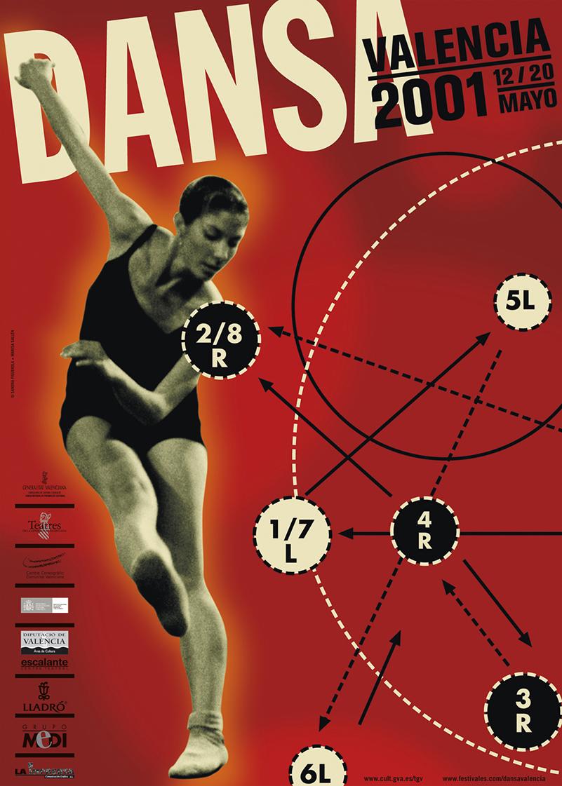 Dansa Valenciana, 2001, Marisa Gallén, Sandra Figuerola.
