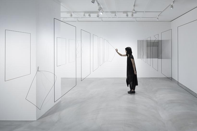 Un-printed material, Nendo en la Creation Gallery G8 de Tokio