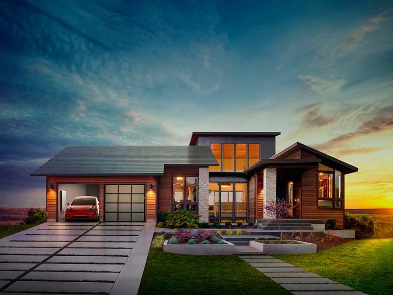 Solar Roof, el tejado solar de Tesla