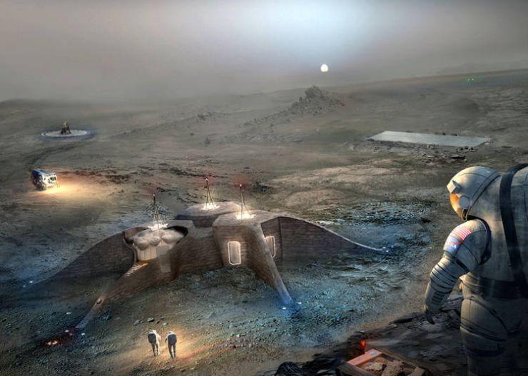 3D-Printed Habitat Challenge, de NASA. Hábitats en Marte con impresión 3D