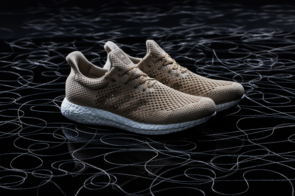 Zapatillas Futurecraft Biofabric, Adidas, 2016. © Hannah Hlavacek / Adidas Group