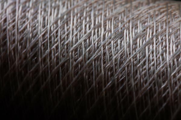 Detalle de la fibra utilizada en las Zapatillas Futurecraft Biofabric