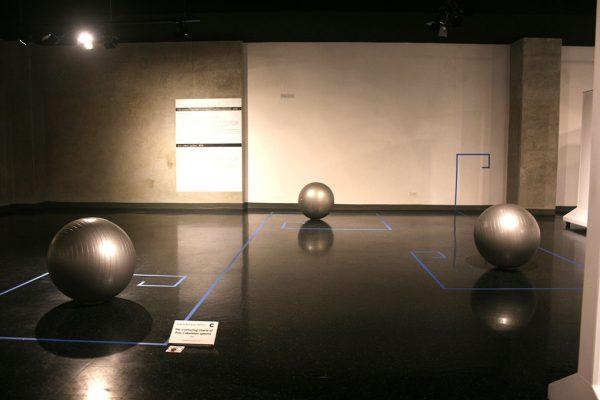 Joaquín Rodríguez del Paso. The everlasting charm of Post Columbian spheres 2016. Foto cortesía del Museo de Jade.