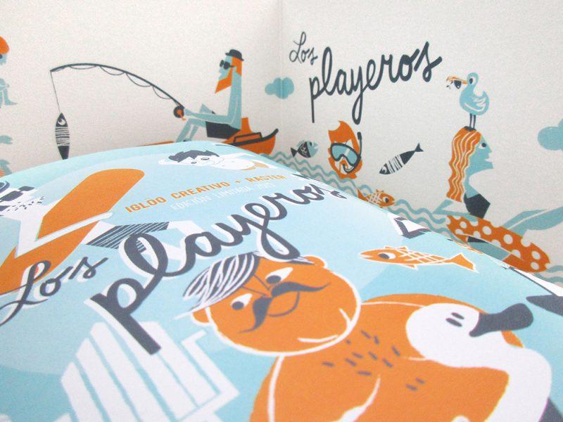 Los Playeros, Iglöo Creativo, 2015.