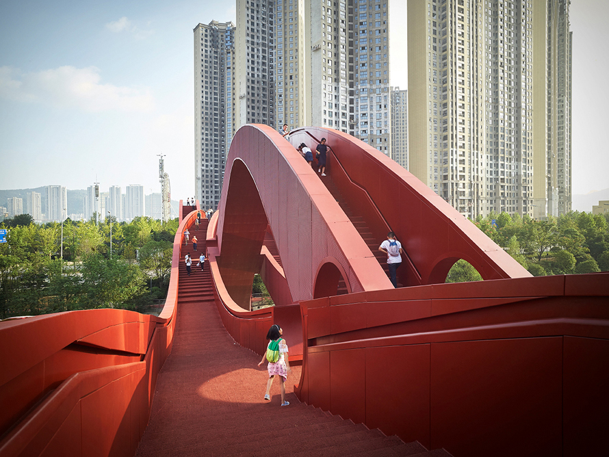 Next Architects inaugura el puente Lucky Knot en Changsha