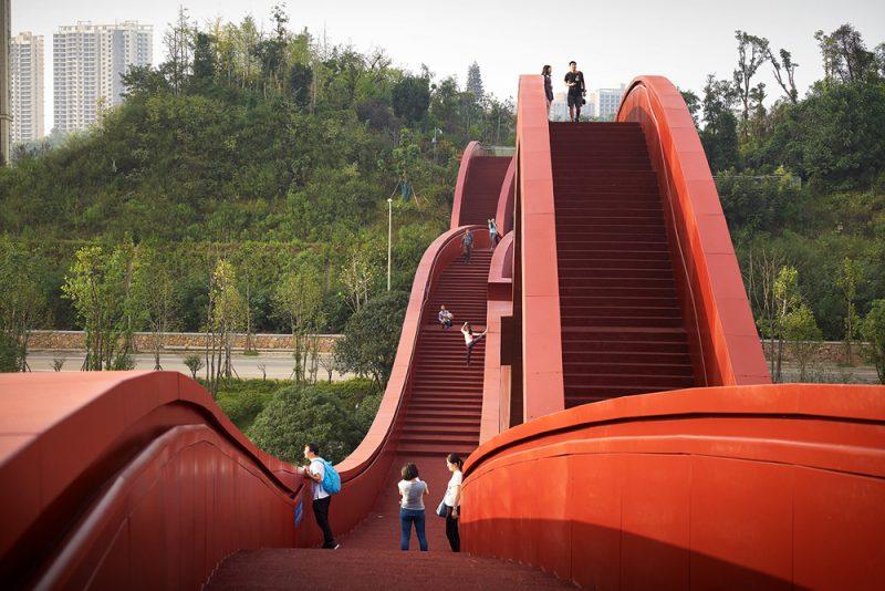 Lucky Knot, NEXT Architects. Changsha, China. Fotografía: Julien Lanoo