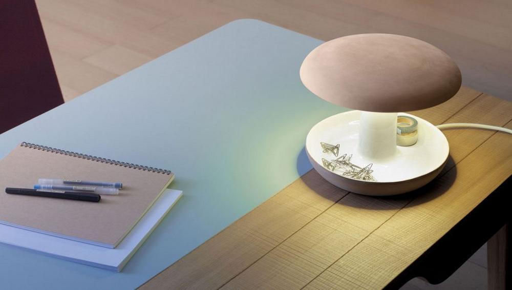 Onddo, lámpara de terracota, Iratzoki Lizaso Design Studio, 2016.