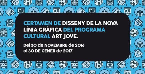 Certamen de Diseño para el desarrollo de la línea gráfica del Programa Cultural Arte Joven 2017