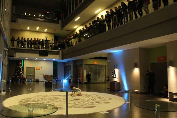 Apertura de la muestra en el vestíbulo del Museo del Jade. Foto cortesía del Museo del Jade.