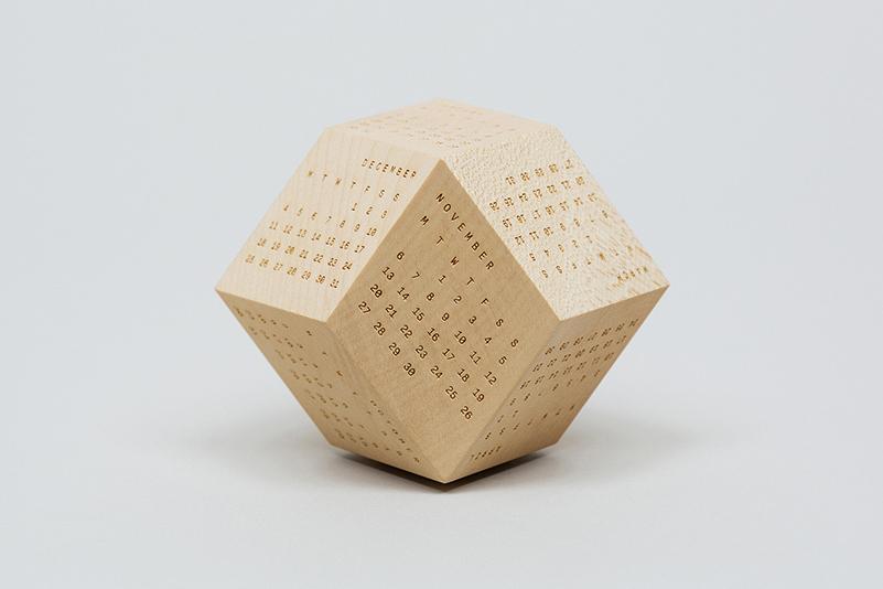 DodeCal, el nuevo calendario poliédrico