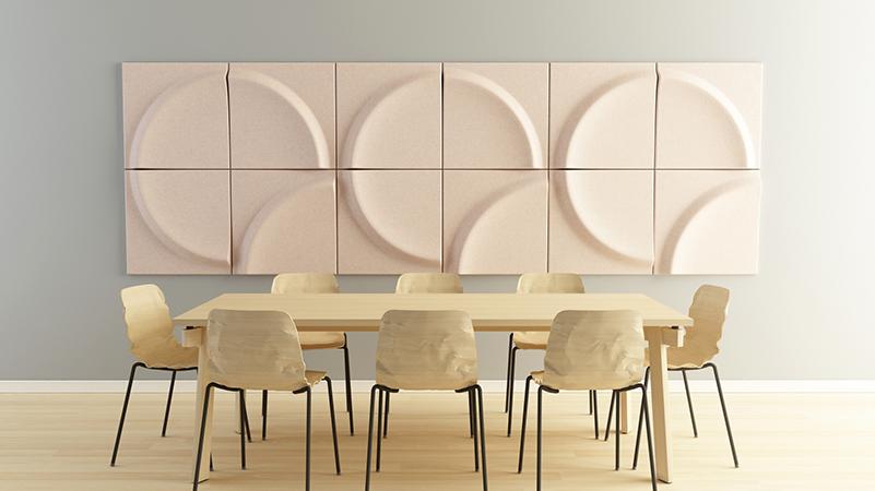 Gaia, los paneles acústicos de Stone Designs