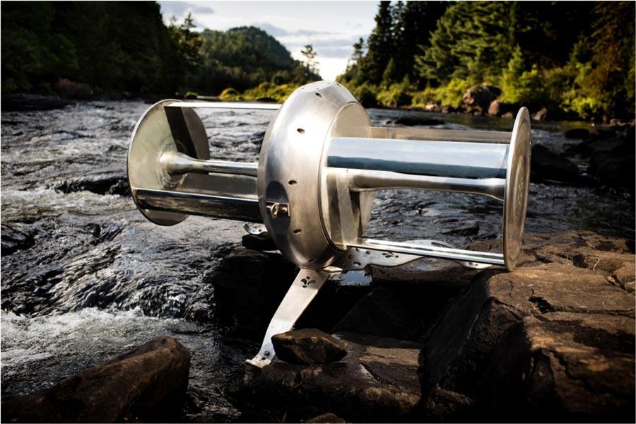 Energía verde: River Turbine, turbina portátil de Idénergie