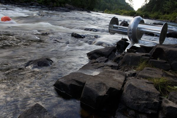 River Turbine, Idénergie, 2016.