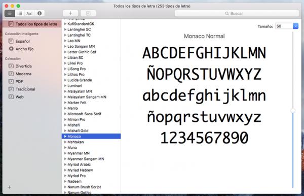 Catalogo tipográfico Mac. Steve Jobs y la tipografía digital