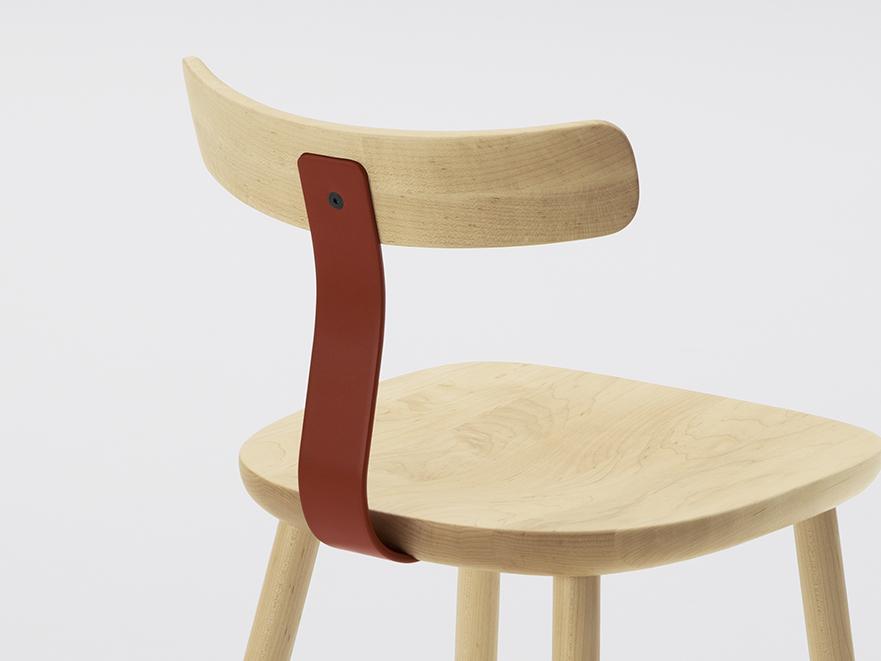 T1 Chair, silla de Jasper Morrison para Maruni