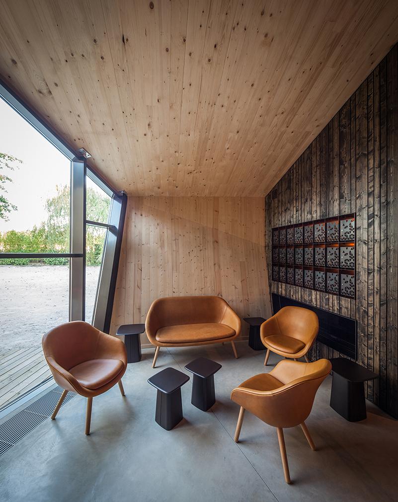 Boos Beach Club, Metaform architects, Luxemburgo, 2016, © Steve Troes Fotodesign