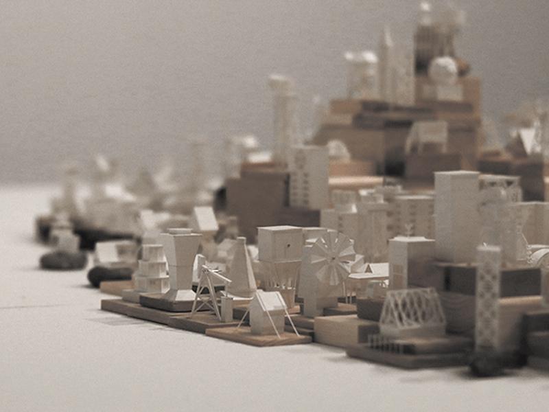 Paperholm, la ciudad creciente en papel moldeado de Charles Young