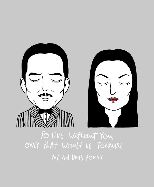 Sad movie couples, de Alejandro Giraldo