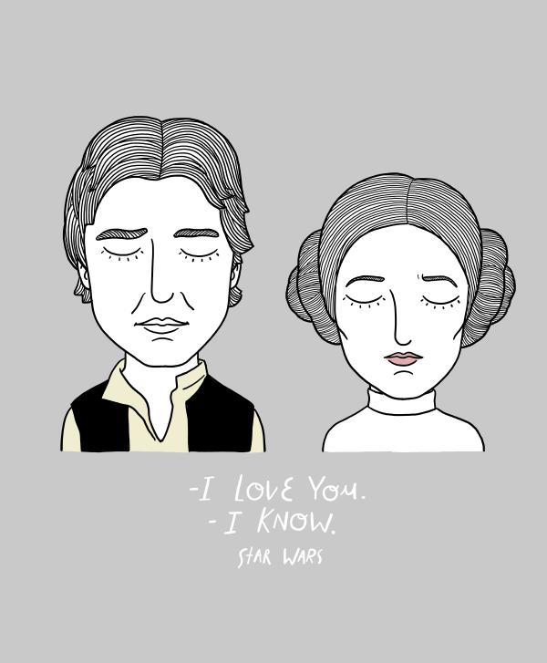 Sad Movie Couples, de Alejandro Giraldo. Las parejas más tristes del cine