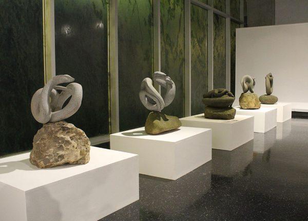 """José Sancho Benito, """"Serpentario"""", Foto cortesía del Museo del Jade."""