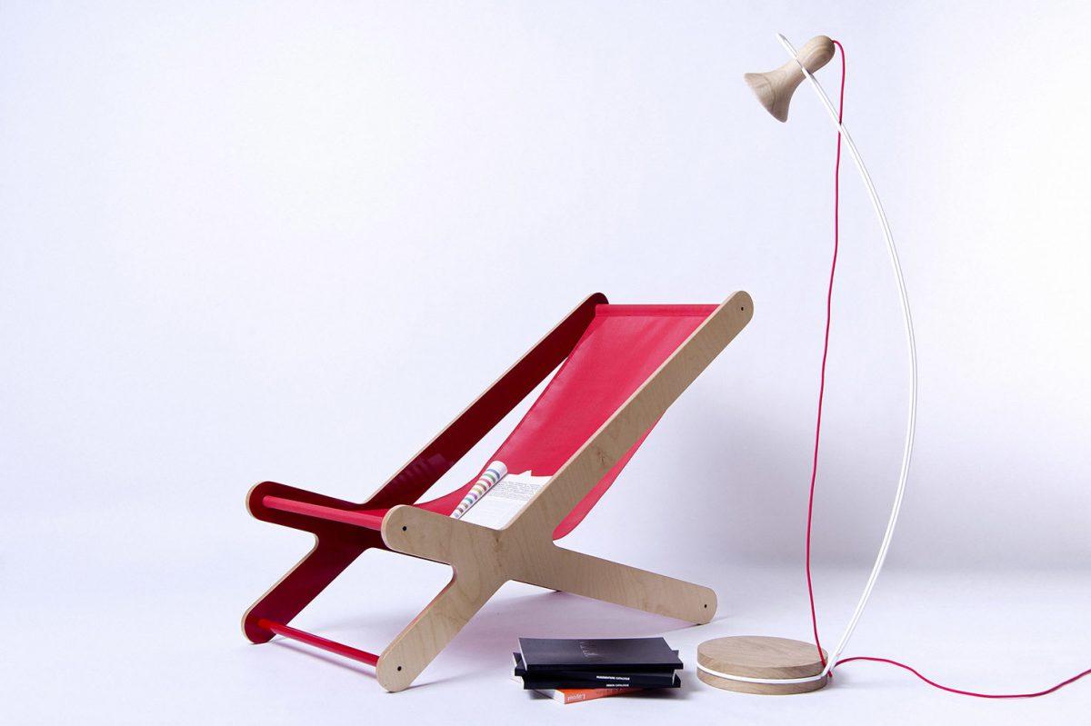 Swaan, lámpara de pie de Denoe Design. El cisne como inspiración