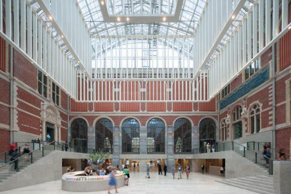 Nuevo atrio del Rijksmuseum, Cruz y Ortiz Arquitectos, 2001-2014.