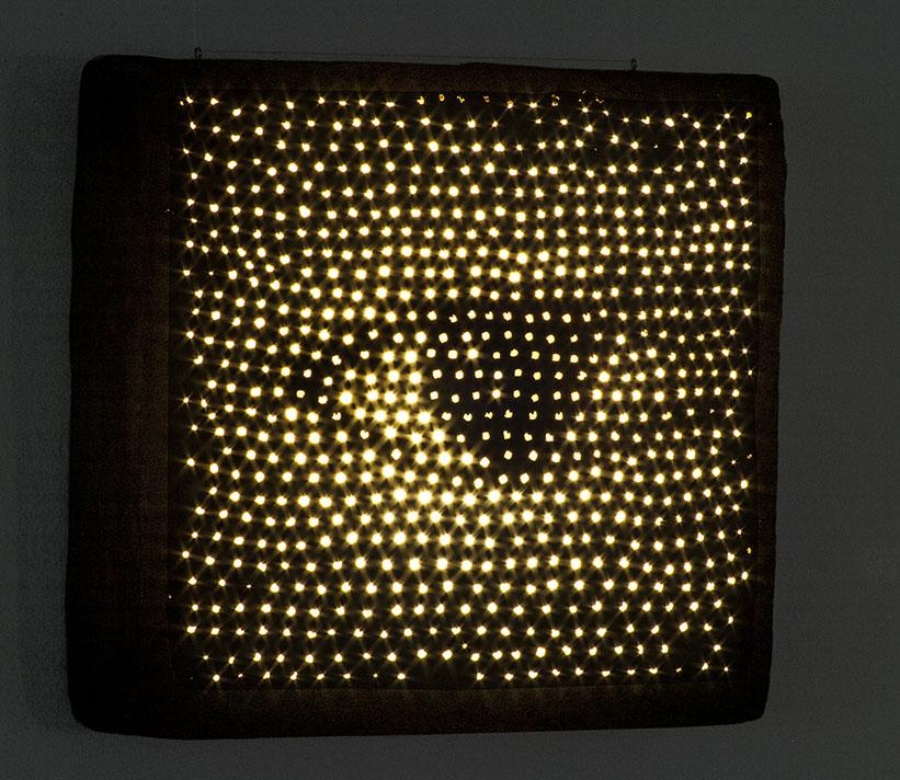 Arte Lumínico 5 en la Galería Nacional de Costa Rica