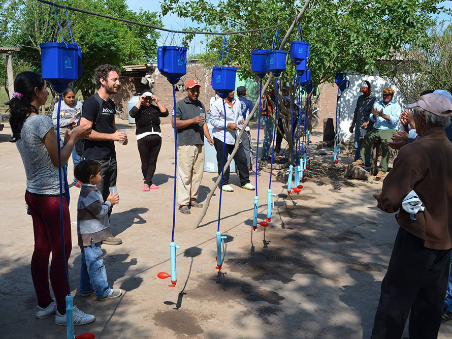 Agua Segura y LifeStraw se unen para llevar agua segura a toda Argentina