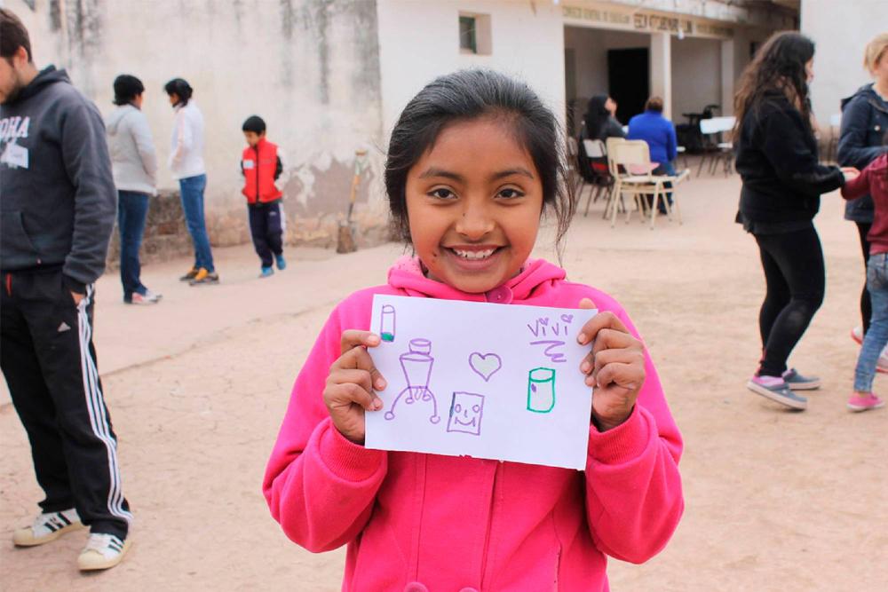 Proyecto Agua Segura, Nicolás Wertheimer, LifeStraw.